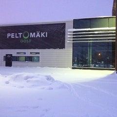 Photo taken at Peltomäki Golf by Matthew J. on 1/21/2012