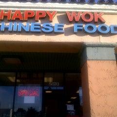 Photo taken at Happy Wok Chinese Food by Jaime M. on 1/9/2012