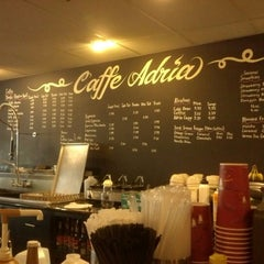 Photo taken at Caffe Adria by Morgan C. on 9/12/2012