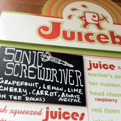 Photo taken at Soup Peddler Real Food & Juice Bar by Anna M. on 1/24/2012