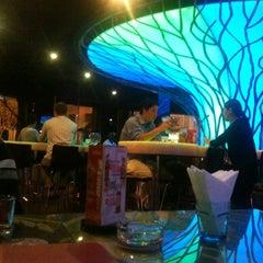 Photo taken at Celsius Restaurant + Bar by SharonShines on 10/24/2011
