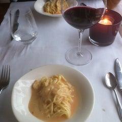 Photo taken at Restaurant Trattoria da Bruno by Petra L. on 6/3/2012