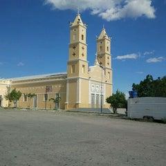 Photo taken at Igreja Matriz Nossa Senhora dos Aflitos by Adino H. on 4/19/2012