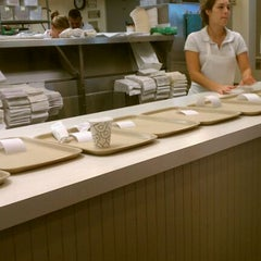 Photo taken at Bodo's Bagels by Lorenzo D. on 5/27/2012