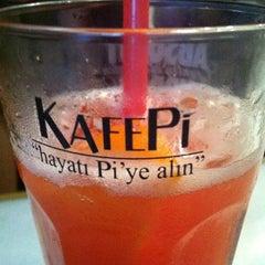 Photo taken at KafePi Asmalımescit Bomonti Brasserie by Mert O. on 6/22/2012