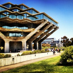 Photo taken at Geisel Library by Irene O. on 4/22/2012