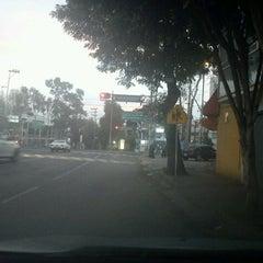 Photo taken at Av. División del Norte by Mauricio V. on 2/16/2012