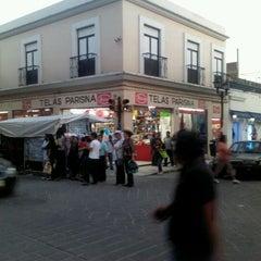 Photo taken at Parisina telas by Varo M. on 5/20/2012