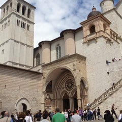 Photo taken at Basilica di San Francesco by Alberto S. on 4/30/2012