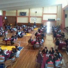 Photo taken at Colegio Santa María Marianistas by tito m. on 7/20/2012