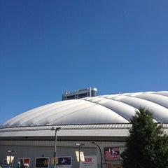 Photo taken at 後楽園駅 (Kōrakuen Sta.)(M22/N11) by 元吉 崇. on 8/22/2012