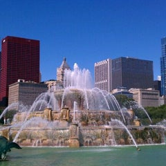 Photo taken at Grant Park by James G. on 9/21/2011