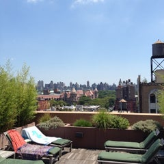 Photo taken at Harrison Rooftop by Susie R. on 7/22/2012