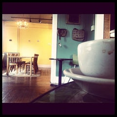 Photo taken at Rohs Street Cafe by Justin M. on 10/31/2011