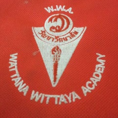 Photo taken at โรงเรียนวัฒนาวิทยาลัย (Wattana Wittaya Academy) by Wannadit F. on 3/12/2012