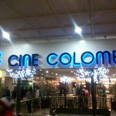 Photo taken at Cine Colombia by Cid C. on 12/9/2011