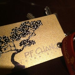 Photo taken at P.F. Chang's by Amy T. on 2/28/2012