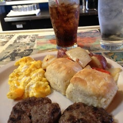 Photo taken at Three Angels Diner by Joseph D. on 3/4/2012