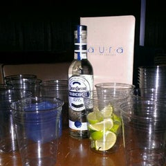 Photo taken at Aura Ultra Lounge by Dan E. on 1/21/2012