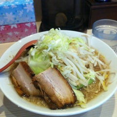 Photo taken at 麺場 風天 by けん on 8/16/2012