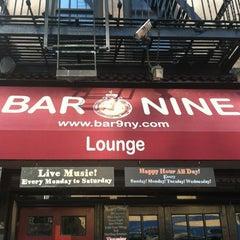 Photo taken at Bar Nine by Frank V. on 7/27/2012