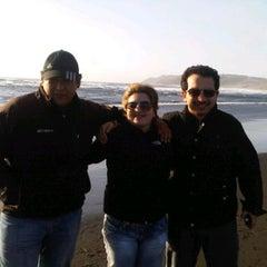 Photo taken at Playa de Tirúa I by Patricio V. on 9/18/2011