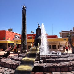 Photo taken at Plaza del Sol by Patricio S. on 4/12/2012