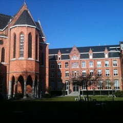 Photo taken at Vlerick Business School by Maarten V. on 3/23/2011