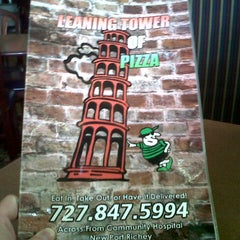 Photo taken at Leaning Tower of Pizza by Craig S. on 9/10/2012