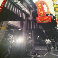 Photo taken at Buca di Beppo by Clifford C. on 5/17/2012