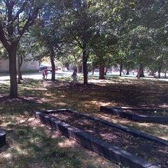 Photo taken at Mann Park by Porsha E. on 6/25/2012