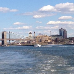 Photo taken at Staten Island Ferry Boat - Spirit Of America by Tina C. on 4/5/2012