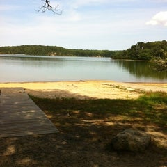 Photo taken at Cliff Pond by Dave R. on 8/14/2012