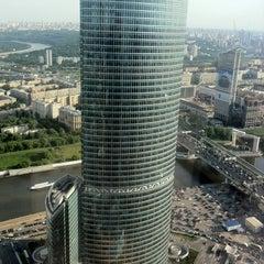 Снимок сделан в Башня «Федерация» / Federation Tower пользователем Vlad M. 5/22/2012