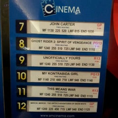 Photo taken at SM Cinemas Megamall by Maria R. on 3/20/2012