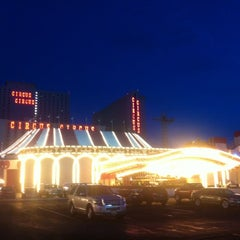 Photo taken at Circus Circus Hotel & Casino by Florian B. on 8/17/2012