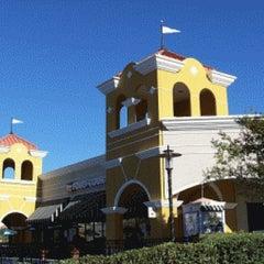 Photo taken at Lake Buena Vista Factory Stores by Orlando A. on 8/19/2012