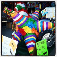 Photo taken at Piñata District - Los Angeles by Tanya R. on 4/23/2012