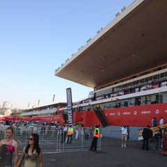 Photo taken at Greyville Racecourse by Werner S. on 7/7/2012