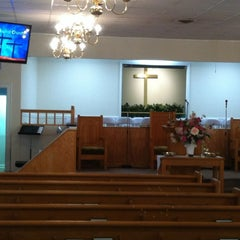 Photo taken at Rehoboth Baptist Church by Melody N. on 3/25/2012