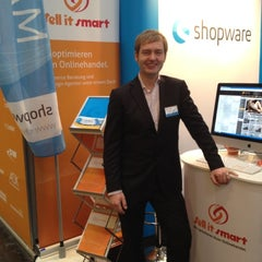 Photo taken at Shopware Halle 6 Stand H14 by Dirk B. on 3/8/2012