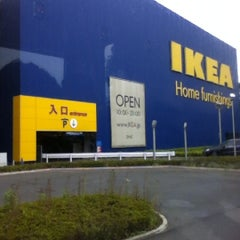 Photo taken at IKEA 港北 by kunio n. on 5/20/2012