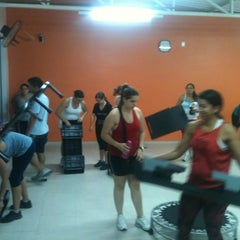 Photo taken at Golden Fitness by César A. on 4/18/2012
