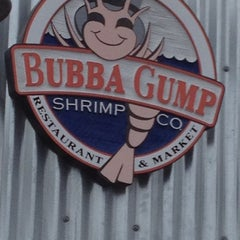 Photo taken at Bubba Gump Shrimp Co. by Sue B. on 6/1/2012