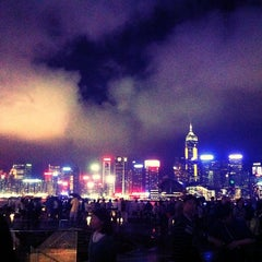 Photo taken at Victoria Harbour 維多利亞港 by Kundech G. on 4/19/2012