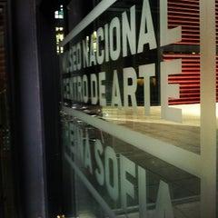 Photo taken at Biblioteca Museo Reina Sofía - Edificio Nouvel by Cesar D. on 8/17/2012