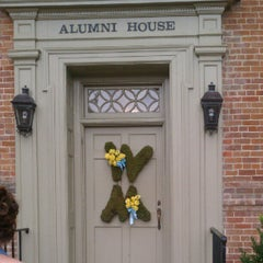 Photo taken at William & Mary Alumni House by Andrew M. on 7/21/2012