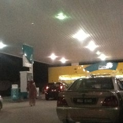 Photo taken at Petronas by ikmal on 2/16/2012