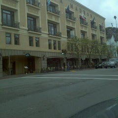 Photo taken at Casa Madrona Hotel And Spa by Kenneth A. on 3/27/2012