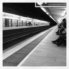 Photo taken at RENFE Passeig de Gràcia by Lesley A. on 11/19/2011